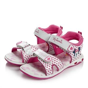 barbie/芭比2014夏季pu/织物女小童凉鞋时尚凉鞋