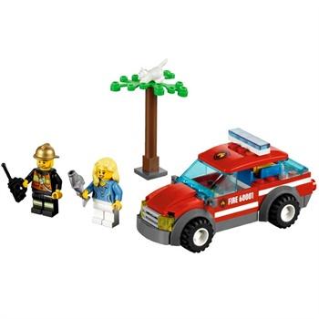 LEGO 乐高 CITY城市系列 消防指挥车 儿童益智积木拼插玩具 L6000