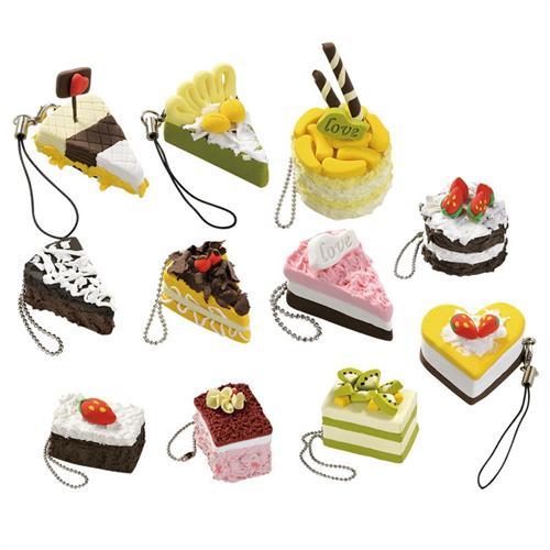 彩泥蛋糕图片可爱简单