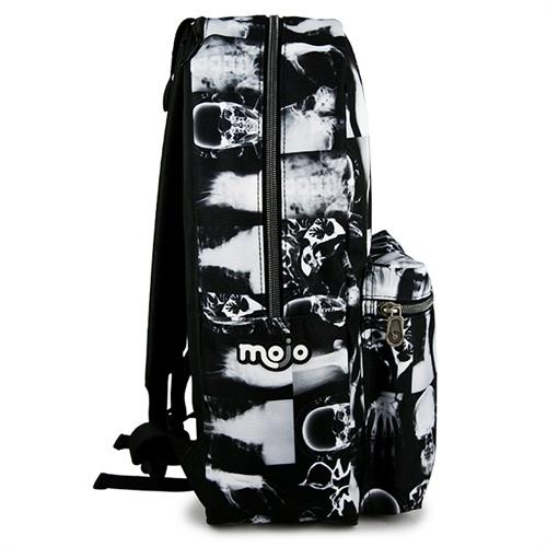美国潮牌mojo 创意印花x光照片个性双肩包