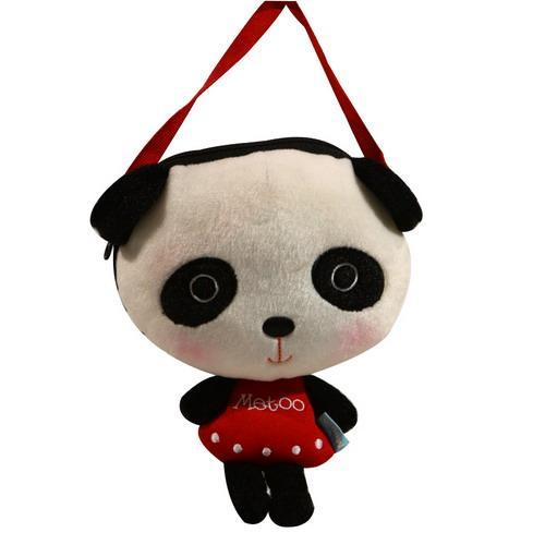 酷玩部落 毛绒包包系列 可爱小熊斜挎包