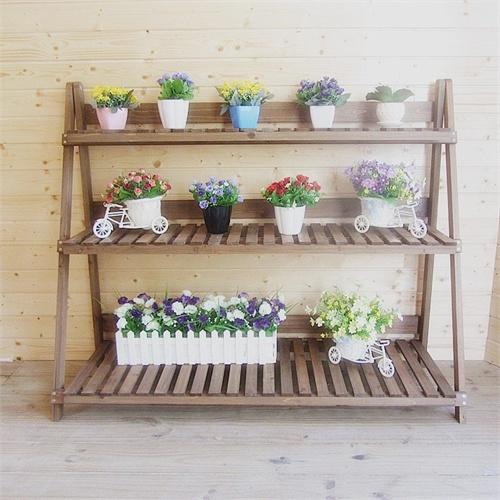 木头书架木质收纳架展示架木制货架装饰架多功能宜家
