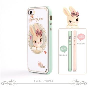 dchk iphone5s可爱卡通系列 iphone5手机壳 苹果6硅胶保护套 iphone6