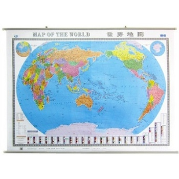 中英文版世界地图