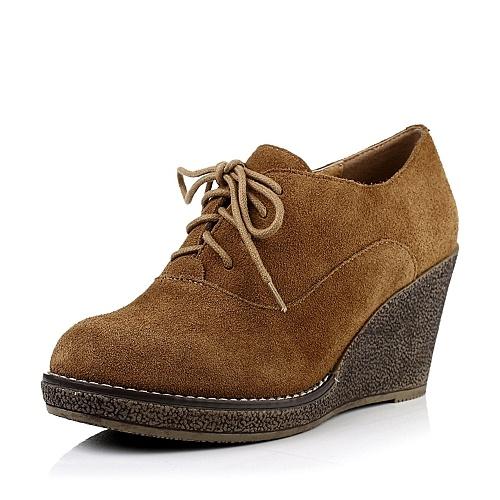 牛绒皮女皮鞋13c96cm3