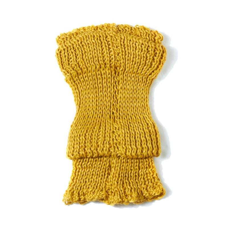 美特斯邦威 女基本针织围脖276920毛织三宝_黄色,均码
