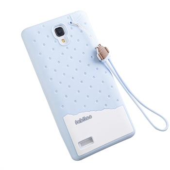 红米note手机壳 红米note手机保护套 硅胶套_冰淇淋-蓝莓