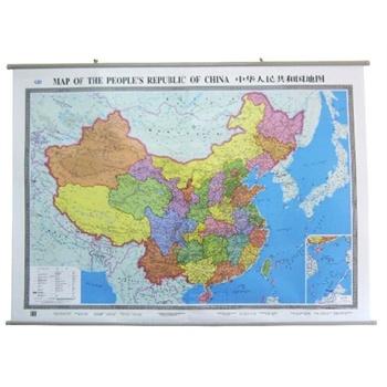 【英文地图1.5米x1