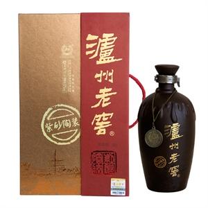 【1919酒类直供】52度泸州老窖紫砂陶装 700mL浓香型白酒 掌柜力荐