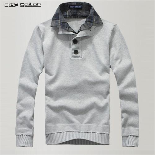 浅灰色毛衣搭配什么颜色的衬衣