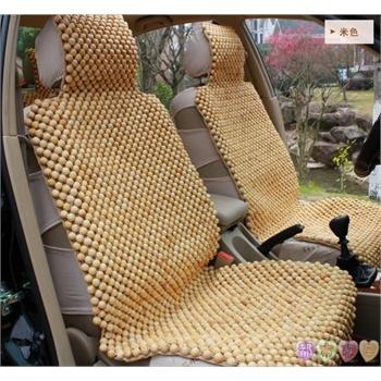 汽车坐垫夏季木珠香木红木香樟木松木木珠串珠座垫黄酸枝木花梨木