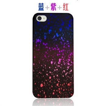 iphone4s手机壳 3d立体星空苹果4s可爱手机壳创意