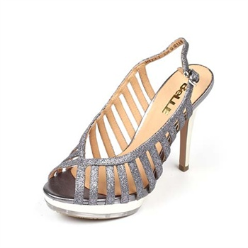 belle/百丽夏季小牛女凉鞋