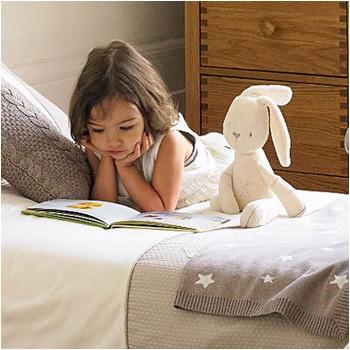 艾果/艾果粒Agolier英国贵族柔滑乖乖兔睡眠安抚玩偶毛绒玩具实用好玩...