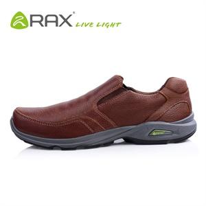RAX春秋正品皮鞋头层牛皮休闲鞋时尚透气户外鞋鞋伦敦23-5G026