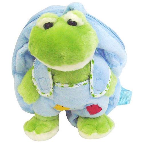 【可爱小青蛙幼儿包-绿色图片】高清图