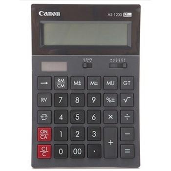 佳能(Canon)AS-1200中型桌面系列计算器