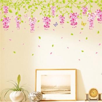 客厅 身高/I堡家居DIY可移除墙贴饰婚房卧室结婚墙贴床头温馨墙贴画客厅...
