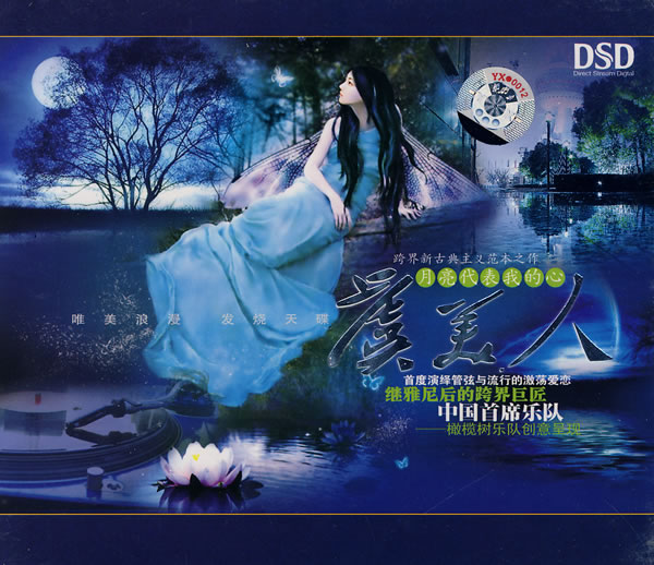 虞美人:月亮代表我的心(cd)图片