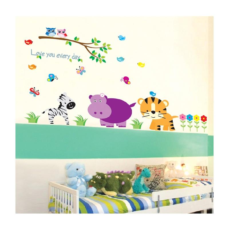 孖堡家居 diy可移除墙贴 教室布置卧室儿童房可爱卡通 创意装饰墙贴纸