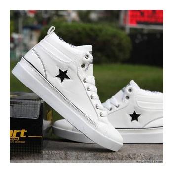 五星英伦潮韩版夏季鬼步舞鞋子