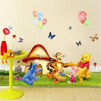 孖堡家居 diy可移除墙贴 儿童房间卡通婴幼儿园墙上环保装饰贴纸 装饰