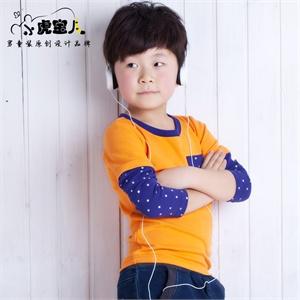 小虎宝儿童装 男童长袖t恤纯棉假两件儿童长袖T恤2014新款长袖