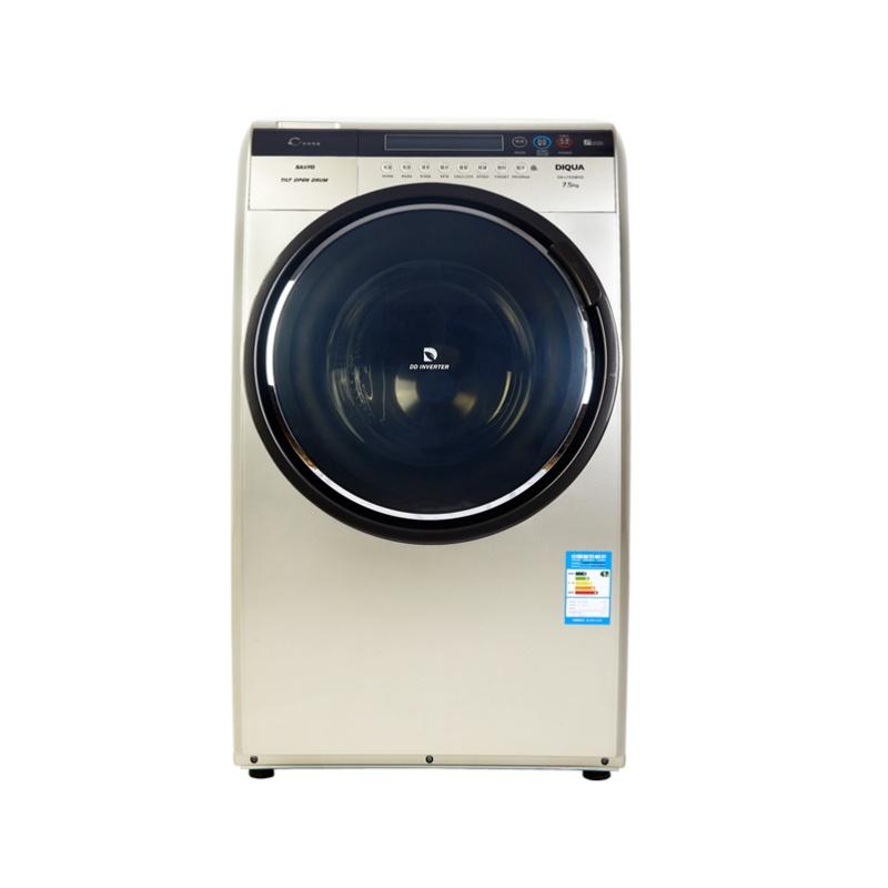 三洋洗衣机dg-l7533bxg 7.5kg滚筒 经典斜式变频 咖啡金