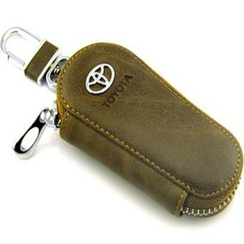 丰田车用钥匙套汽车钥匙包真皮套扣锐志皇冠rav4卡罗拉逸致