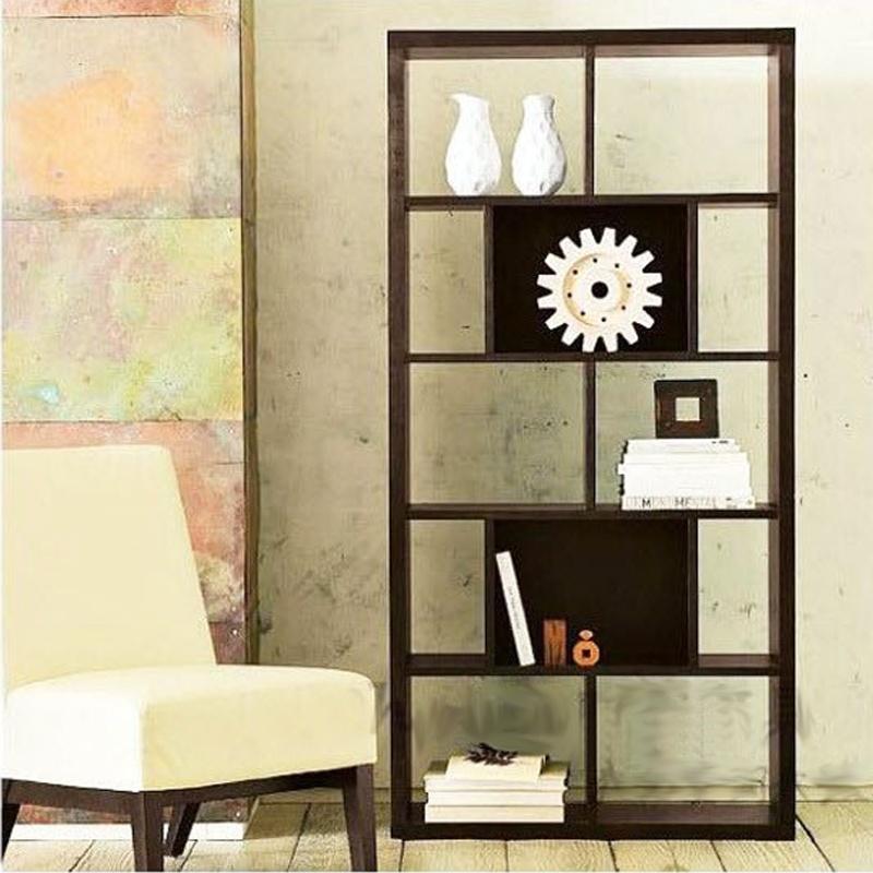 百意空间定制玄关柜门厅柜客厅书柜自由组合立柜书架隔断置物架储物柜