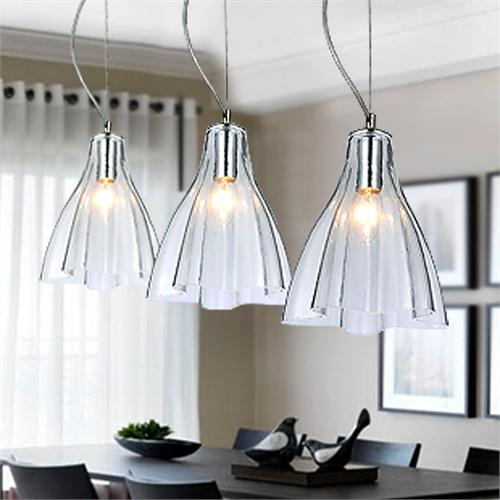 欧式吊灯餐厅灯三头简约现代创意灯具客厅卧室