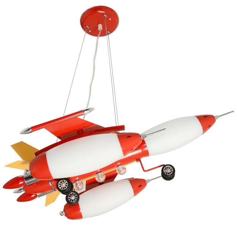 儿童房灯具吊灯可爱卡通飞机灯童趣儿童
