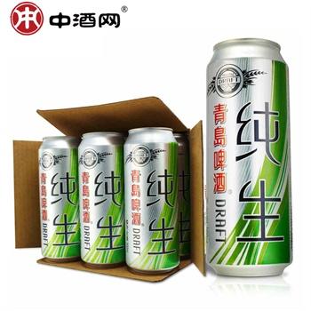 中酒网 青岛啤酒 奥古特啤酒 500ml*12听/箱 麦 28 条评论) 98.