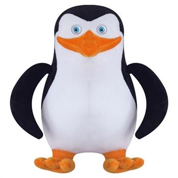 马达加斯加正品企鹅公仔老大可爱毛绒玩具儿童创意