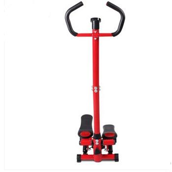 正品艾威银冰st1690多功能带扶手液压踏步机登山机,健身车带哑铃图片