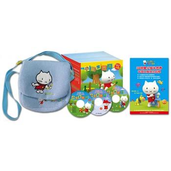 孩纸看过来,小猫米思蒂系列大礼包(内含18本书+8K海报+DVD1张+米思蒂背包1个)¥53.4