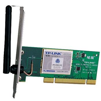 【当当自营】tp-link 54mpci插槽无线网卡 tl-wn550g