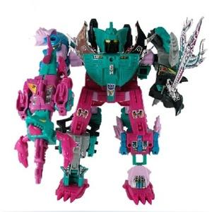 再降价 孩之宝 Hasbro 变形金刚 狂派 海怪组 H27101 (6角色组合)168元的图片