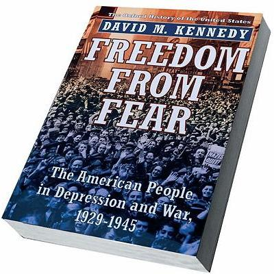 【预订】freedom from fear: the american people in