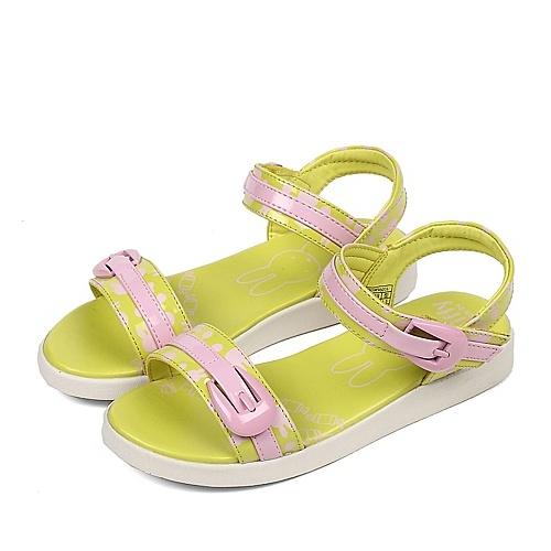 【miffy/米菲2013夏季pu女中童时尚凉鞋m96016yg图片