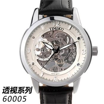 Time100 时光一百 W60006G 灵动空间 透视全自动腕表