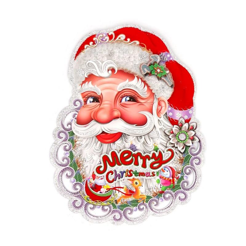 】圣诞老人贴画
