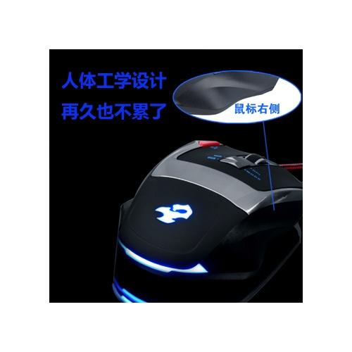 爵蝎k3 有线游戏鼠标 usb笔记本电脑鼠标 游戏鼠标 有
