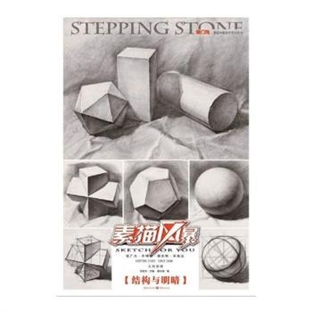 《結構與明暗幾何形體/敲門磚素描風暴系列美術叢書