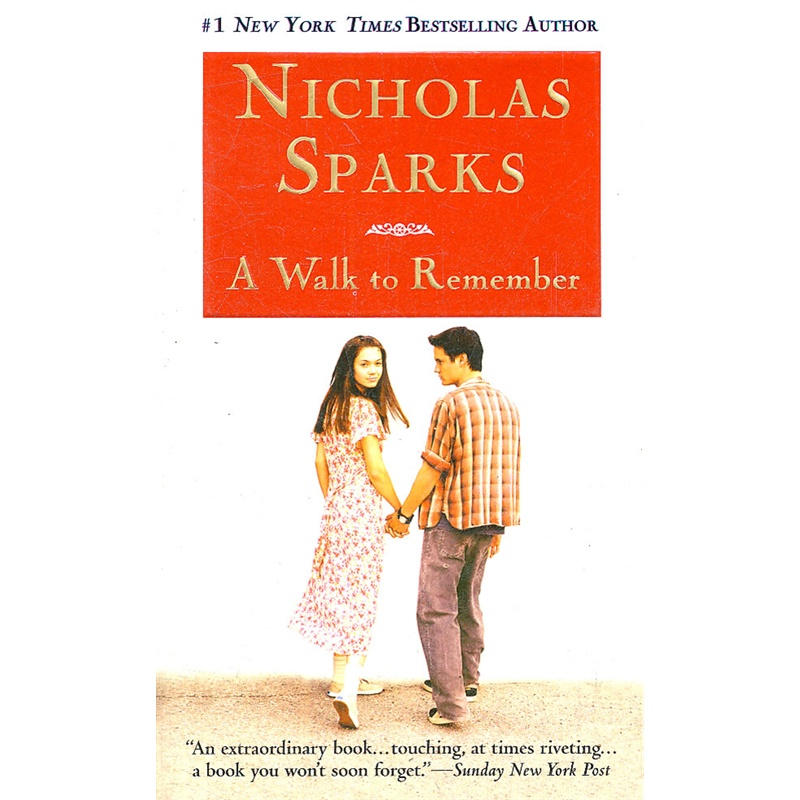 a walk to remember book essay