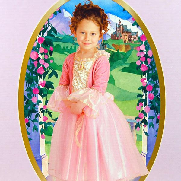 芭比公主禮服簡筆畫,芭比公主禮服簡筆畫