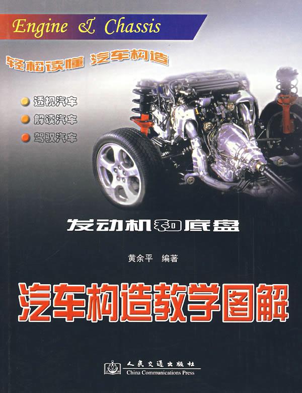汽车构造教学图解:发动机和底盘