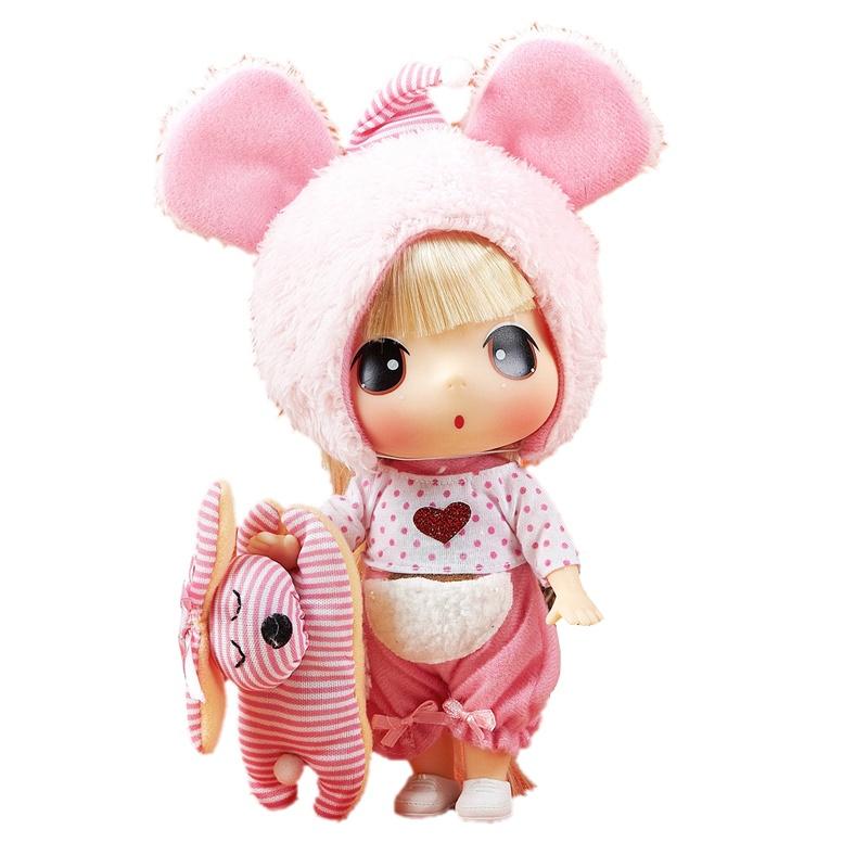 冬己 小熊版 女孩娃娃玩具 fde1806