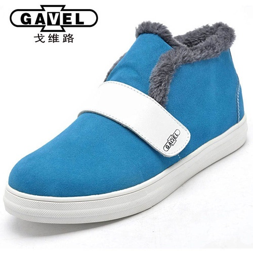 韩版英伦时尚潮流 反绒真皮鞋
