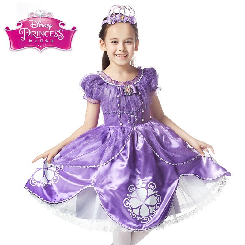 童装 礼服/演出服 伊佳林礼服/演出服 迪士尼公主裙童装 女童公主裙